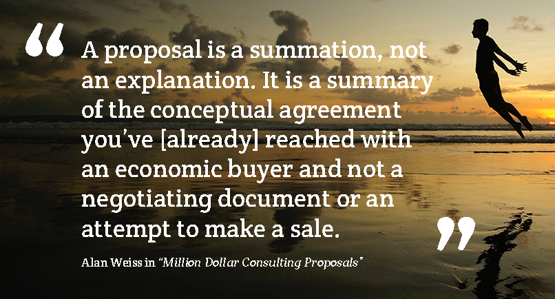 Sales-proposals-Alan-Weiss-Million-Dollar-Consulting-Proposals-Quote