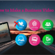 How to Make a Business Video